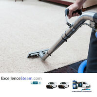 Excellence Steam Carpet cleaning service truckmounted.