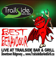 Live Band - Ridgeway Ont - Trailside presents Best Behaviour