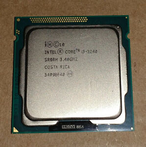 **Intel Core i3-3240 3.4GHz LGA-1155 Desktop CPU Processor