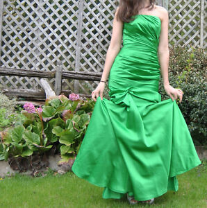 Prom dress- emerald green, mermaid style for sale! NEGOTIABLE West Island Greater Montréal image 4