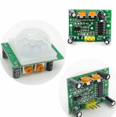 New Hc-sr501 Infrared Pir Motion Sensor Module For Arduino Raspberry Pi Rf