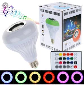 Bluetooth speaker light bulb led music gift