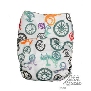"Cloth Diaper "" La Petite Ourse"" FREE delivery 80$+"