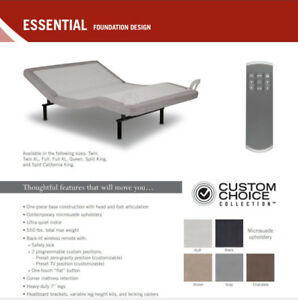 Adjustable Bed Base Sale in Toronto $799.00 & Up (with wireless)