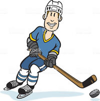Pick-Up Hockey Players needed for Fall? Winter Shinny