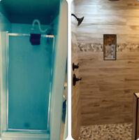 Renovations de Salles de bain,cuisines sous-sols  514 464 6861