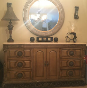 Dining server or bedroom dresser.
