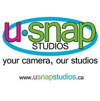 PART TIME, FLEXIBLE STUDIO ASSISTANT NEEDED - U-Snap Studios