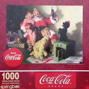 4 gently used Christmas Puzzles for the price of 1 new