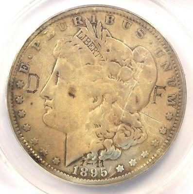1895-O Morgan Silver Dollar $1 - ANACS F12 Details (Damage) - Certified Coin!