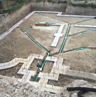 Excavation for Septic tank, Separate entrance & Walkout Basement