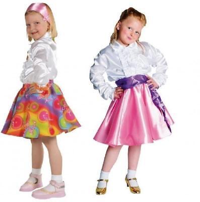50er Jahre Rock Kostüm Rock n Roll Kinder Party Disco Boogie Woogie - Kinder 50er Jahre Kostüm