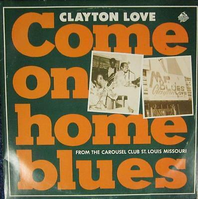 "Clayton Love(10"" Vinyl)Come On Home Blues-Red Lightnin- RL0029-UK--Ex/NM"