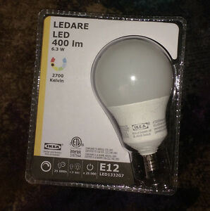 IKEA 6.3W 400LM LED Light Bulb - E12
