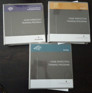 Carson Dunlop Home Inspection Training Program Textbooks