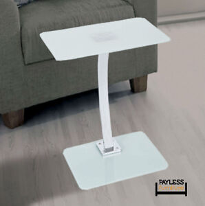 NEW ★ White/Black Laptop Table with matte Finish ★ Can Delive Kitchener / Waterloo Kitchener Area image 2