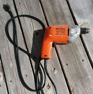 Black and Decker corded dril for $30