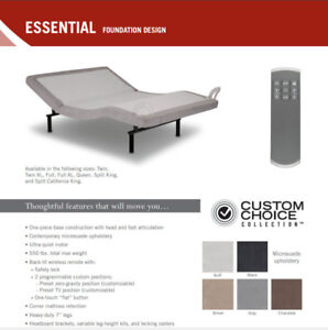 Adjustable Bed Base with wireless Remote Sale $799 in Toronto