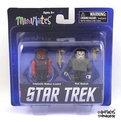 Star Trek Legacy Minimates Tru Welle 1 Kapitän Sisko (Weste) & Gul Dukat gebraucht kaufen  Versand nach Germany