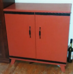 Two Door former Radio Cabinet