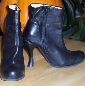 Gorgeous Fluvog Ankle High Heel Boots