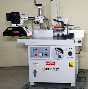 Used Shaper - CanTek SS-512CSB with feeder - REF# 1897BM