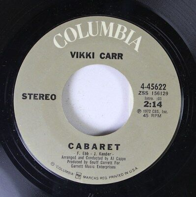 Pop 45 Vikki Carr   Cabaret   Big Hurt On Columbia