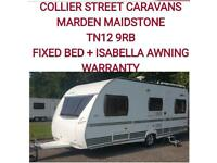 2006 Cristall Moorea 530tf 4 berth fixed bed +awning