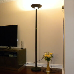 LED Torchiere Floor Lamp 6'