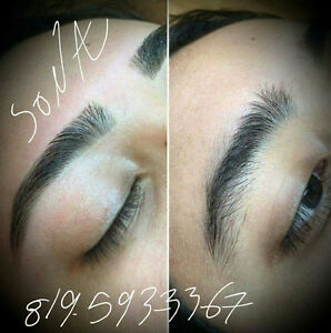 Épilation au fil /Threading eyebrows shaping Gatineau Ottawa / Gatineau Area image 1