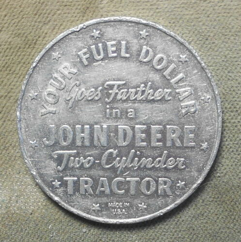 John Deere Two Cylinder Tractor, Your Fuel Dollar Goes Further In A