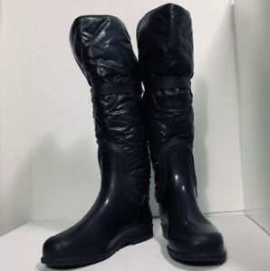 *PAJAR - bottes en cuir - leather boots : taille 10*