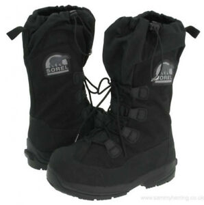SOREL Intrepid Explorer Snow Boots, Size 7, Rated for Minus 73C.