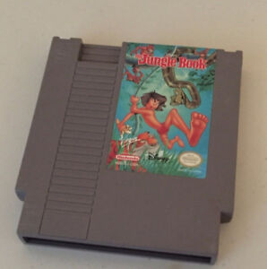 The Jungle Book NES Nintendo Game Cartridge only