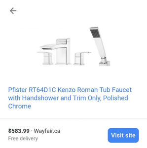 New In Box Pfister Kenzo Faucet
