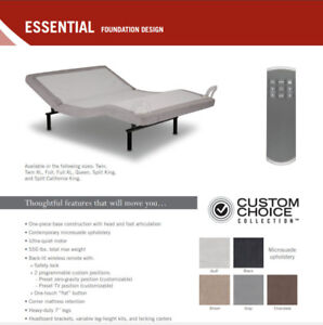 Adjustable Bed Base with wireless Remote Control Sale $799.00