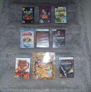 Large collection of PC games------alot still new and sealed!!!!!