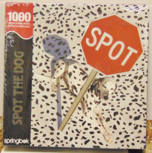 Springbok Spot The Dog 1000 Piece Jigsaw Puzzle SEALED
