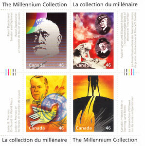 Canada Stamps - The Millennium Collection - Humanitarians & Peac