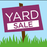 Yard Sale. Saturday June 24th. Castleton