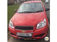 Chevrolet aveo 2009 1.2 (low mileage)
