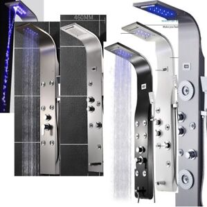 15 LED   shower panel tower column systems of superior quality