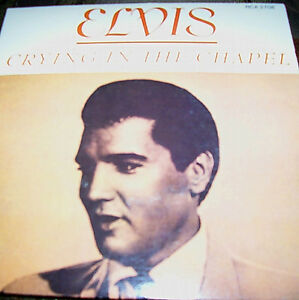 Assemblage of 5 Elvis Vinyl 45's with Picture Covers London Ontario image 2