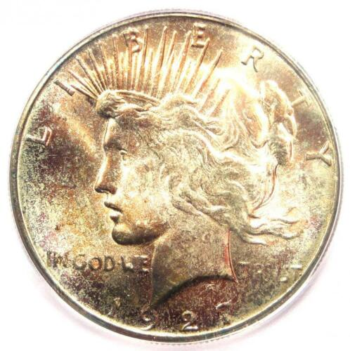 1927-S Peace Silver Dollar $1 - ICG MS65 - Rare Certified Coin - $7,810 Value!