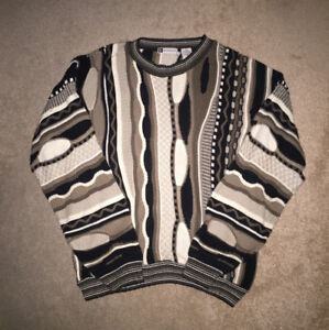 Vintage Coogi Style Sweater **Notorious B.I.G.