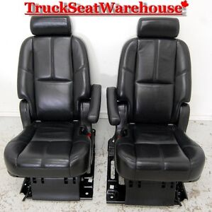 Yukon Denali Short 2nd Row Bucket Seats Cadillac Escalade Tahoe
