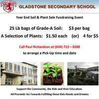 Gladstone Secondary's Year End Soil & Plant Sale Fundraising Eve