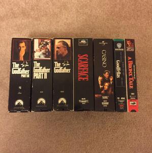 Martin Scorsese Classics (VHS Tapes)
