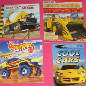 Truck and Car books for kids