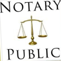 Notary Public $10 in Scarborough.
